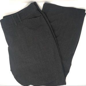 Lane Bryant Plus Size Charcoal Gray Wide Leg Pants